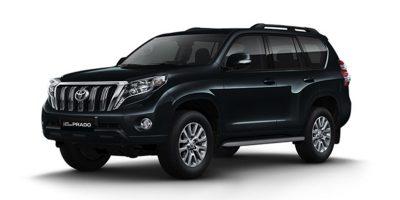 Toyota Land Cruiser Prado Negro